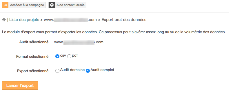 config audit seo complet